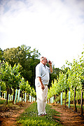Mark Terry, the Vintner at West Bend Vineyard and Winery, in the Yadkin Valley, NC.
