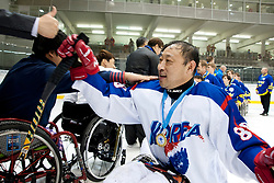 ITA v KOR during the 2013 World Para Ice Hockey Qualifiers for Sochi, Torino, Italy