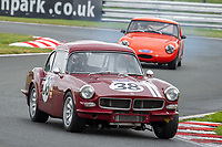 #38 John DEVLIN Reliant Sabre 6  during CSCC Adams & Page Swinging Sixties Series  as part of the CSCC Oulton Park Cheshire Challenge Race Meeting at Oulton Park, Little Budworth, Cheshire, United Kingdom. June 02 2018. World Copyright Peter Taylor/PSP.