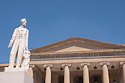 D.C. Court of Appeals with Lincoln Statue