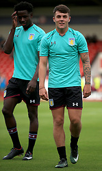 Jordan Lyden of Aston Villa - Mandatory by-line: Paul Roberts/JMP - 18/07/2017 - FOOTBALL - Bescot Stadium - Walsall, England - Walsall v Aston Villa - Pre-season friendly