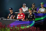 September 18-21, 2014 : Singapore Formula One Grand Prix - Thursday press conference