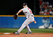 Boston closer Jonathan Papelbon during the game between the Atlanta Braves and the Boston Red Sox at Turner Field in Atlanta, GA on June 19, 2007..