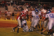 Water Valley's C.J. Jackson (26) makes a tackle vs. South Pontotoc in Pontotoc, Miss. on Friday, October 7, 2011. Water Valley won 49-7.