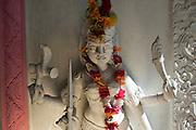 Small Hindu shrine dedicated to Kali Mata or Kali Amma. just South of Grand Bay