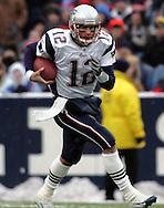 Tom Brady scrambles, New England Patriots @ Buffalo Bills, 11 Dec 05, 1pm, Ralph Wilson Stadium, Orchard Park, NY