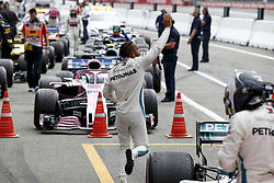 July 22, 2018 - Hockenheim, Germany - Motorsports: FIA Formula One World Championship 2018, Grand Prix of Germany, .#44 Lewis Hamilton (GBR, Mercedes AMG Petronas Motorsport) (Credit Image: © Hoch Zwei via ZUMA Wire)