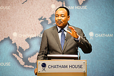 Mahamadou Issoufou, President of Niger in London