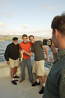 Sport Fishermen Taking Picture