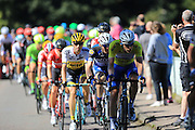 Chasing group during the Stage 5 of the Tour of Britain 2016 from Aberdare to Bath, United Kingdom on 8 September 2016. Photo by Daniel Youngs.