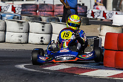 June 23, 2018 - Cotia, Brazil - COTIA, SP - 23.06.2018: OPEN BRASILEIRO DE KART - Open Brazilian Kart Championship being held this weekend at Kartódromo Granja Viana, in Cotia, in Greater São Paulo and already has more than 170 registered drivers. The competition is the final preparation before the 53rd Brazilian Kart, which for the first time will also be hosted at the KGV between July 9 and 21. No highlights the Marcelo Brandão pilot of the Senior category A. (Credit Image: © Emerson Santos/Fotoarena via ZUMA Press)