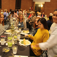 ALICE ORTIZ/BUY AT PHOTOS.MONROECOUNTYJOURNAL.COM<br /> Pictured is the crowd at the recent Fidelia Club banquet held at First United Methodist Church in Amory.