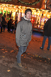 NOEL GALLAGHER at the opening of the 2012 Winter Wonderland, Hyde Park on 22nd November 2012.