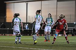 Millie Farrow of Bristol City Women scores - Mandatory by-line: Dougie Allward/JMP - Mobile: 07966 386802 - 23/03/2016 - FOOTBALL - Stoke Gifford Stadium - Bristol, England - Bristol City Women v Yeovil Town Ladies - FA Women's Super League 2