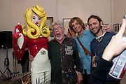 PANDEMONIA; ROLF HARRIS, Opening of Blood & Salt Water, Viktor Wynd Fine Art Ltd <br /> Mare Street,London and  various other Galleries Vyner St. 1 October 2009.
