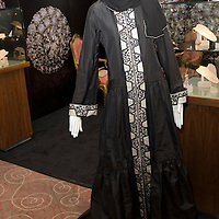 London, Intercontinental London Park Lane Hotel, August 2nd Opening of The Saudi Gulf Luxury Trade Fair The first ever Luxury and Trade Fair..The world most expensive abaya (Arabic Dress) designed by Bruce Oldfield in association with Crosley Diamonds on sale at the fair for £175,000.00