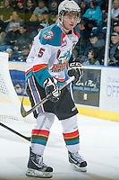 KELOWNA, CANADA - DECEMBER 30:  Colton Sissons #15 of the Kelowna Rockets skates on the ice against the Everett Silvertips at the Kelowna Rockets on December 30, 2012 at Prospera Place in Kelowna, British Columbia, Canada (Photo by Marissa Baecker/Shoot the Breeze) *** Local Caption ***