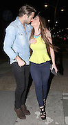 25.APRIL.2013. ESSEX<br /> <br /> TOWIE'S JAMES LOCK, ABI CLARK, JACK BENNEWITH AND DANNY WALIA SEEN LEAVING FACES NIGHTCLUB IN GANTS HILL ESSEX. JAMES LEFT THE CLUB WITH ABI IN THE SAME CAR AT 2AM. JACK BENNEWITH THE YOUNGER BROTHER OF DIAGS WAS SEEN LOOKING WORSE FOR WEAR WITH HIS SHIRT OFF WHILST DANNY WALIA WAS WITH A MYSTERY WOMEN OUTSIDE THE CLUB. <br /> <br /> BYLINE: EDBIMAGEARCHIVE.CO.UK<br /> <br /> *THIS IMAGE IS STRICTLY FOR UK NEWSPAPERS AND MAGAZINES ONLY*<br /> *FOR WORLD WIDE SALES AND WEB USE PLEASE CONTACT EDBIMAGEARCHIVE - 0208 954 5968*