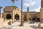 Regal Cinemas at Ocean Place Shopping Mall in Oceanside California