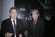 STEPHEN FREARS AND CHEMA PRADO, Dali and Film. Tate Modern. 30 May 2007.  -DO NOT ARCHIVE-© Copyright Photograph by Dafydd Jones. 248 Clapham Rd. London SW9 0PZ. Tel 0207 820 0771. www.dafjones.com.