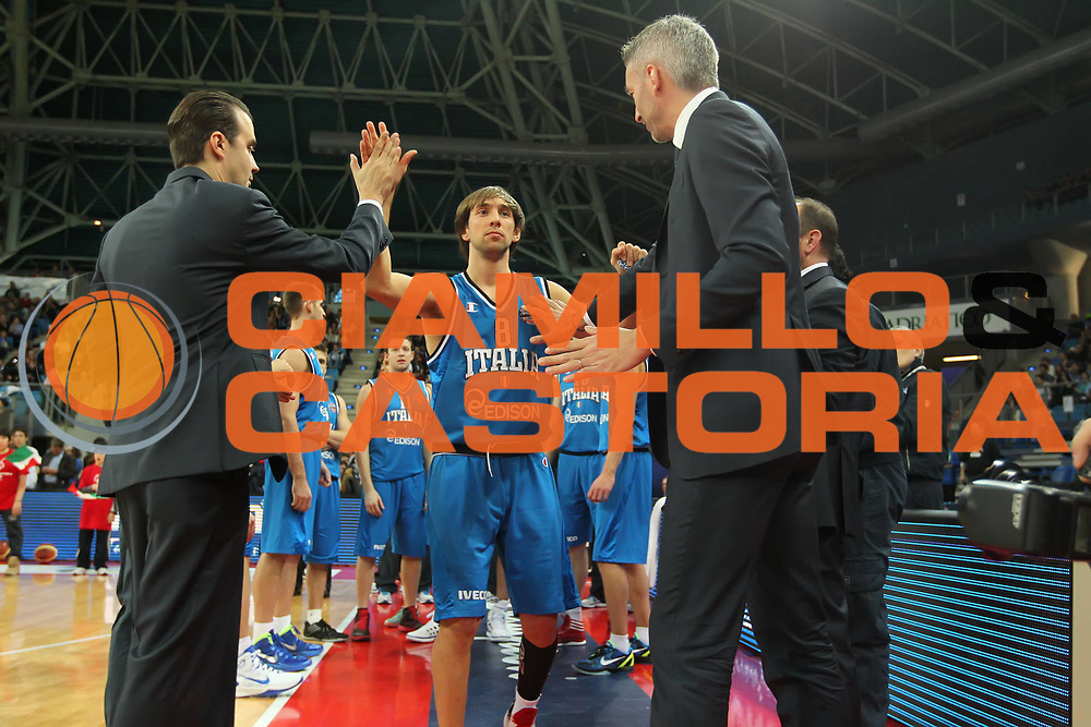 DESCRIZIONE : Pesaro Edison All Star Game 2012<br /> GIOCATORE : Simone Pianigiani Riccardo Pittis Giuseppe Poeta<br /> CATEGORIA : presentazione prima della partita<br /> SQUADRA : Italia<br /> EVENTO : All Star Game 2012<br /> GARA : Italia All Star Team<br /> DATA : 11/03/2012 <br /> SPORT : Pallacanestro<br /> AUTORE : Agenzia Ciamillo-Castoria/ElioCastoria<br /> Galleria : FIP Nazionali 2012<br /> Fotonotizia : Pesaro Edison All Star Game 2012<br /> Predefinita :