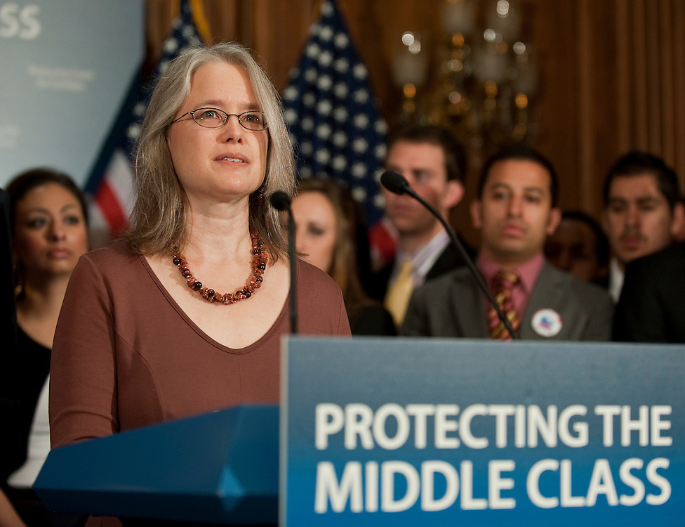 Mar 25,2010 - Washington, District of Columbia USA - .Senate Democrats hold a press conference to discuss how and up-or-down vote on health reform will assist middle class families and college students..(Credit Image: © Pete Marovich/ZUMA Press)