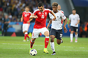 Switzerland Midfielder Blerim Džemaili during the Euro 2016 Group A match between Switzerland and France at Stade Pierre Mauroy, Lille, France on 19 June 2016. Photo by Phil Duncan.