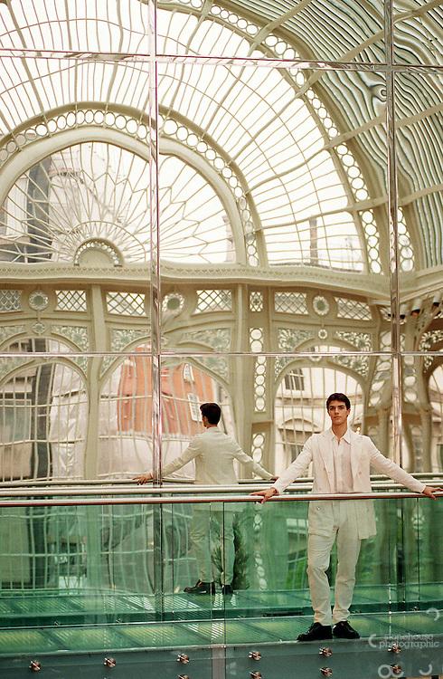 Italian ballet dancer Roberto Bolle, the principle dancer at La Scala in Milan.