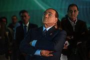 Silvio Berlusconi all'interno degli studi televisivi di La7. Roma 8 febbraio 2016. Christian Mantuano / OneShot<br /> <br /> Silvio Berlusconi inside the Televison studios of La7. Rome, 8 February 2016. Christian Mantuano / OneShot