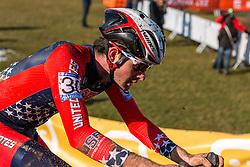 Sam O'Keefe (USA), Men Under 23, Cyclo-cross World Championships Tabor, Czech Republic, 1 February 2015, Photo by Pim Nijland / PelotonPhotos.com
