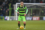 Forest Green Rovers Lee Collins(5) during the EFL Sky Bet League 2 match between Forest Green Rovers and Cambridge United at the New Lawn, Forest Green, United Kingdom on 20 January 2018. Photo by Shane Healey.