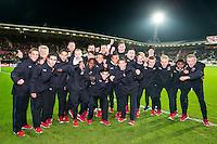 ALKMAAR - 19-12-2015, AZ - FC Utrecht, AFAS Stadion, 2-2,