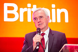 © Licensed to London News Pictures. 21/09/2019. Brighton, UK. Member of the Labour Party, Shadow Chancellor JOHN MCDONNELL MP takes part in the Labourlist and Unite The Union Rally. Photo credit: Hugo Michiels/LNP