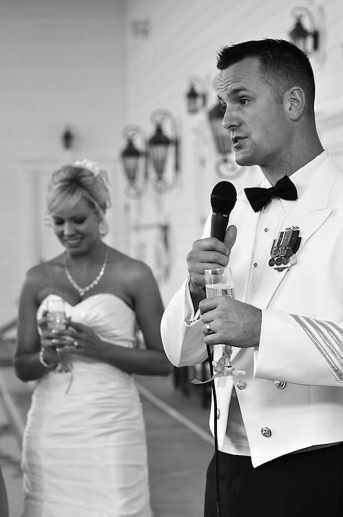 Ric and Rebecca Wedding   Indian Beach NC Photographers