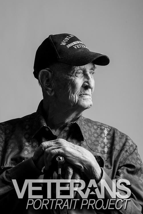 Floyd R. Thomas<br /> Army<br /> E-4<br /> Infantry, Medic, Airborne<br /> Sept. 12, 1944 - Nov. 27, 1946<br /> WWII, Battle of Okinawa, Occupation of Japan<br /> <br /> Veterans Portrait Project<br /> Colorado Springs, CO