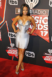 Christina Milian at the 2017 iHeartRadio Music Awards held at the Forum in Inglewood, USA on March 5, 2017.