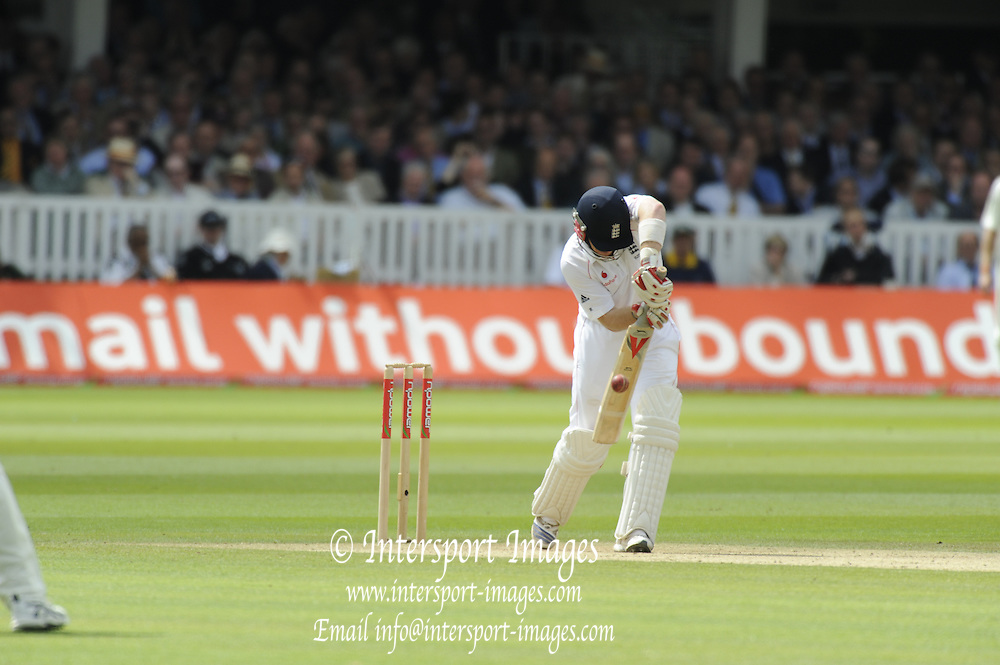 London GREAT BRITAIN,  Ian BELL, during his century in the 1st NPower Test,  England vs South Africa, Lord's Cricket ground,   Friday, 11/07/2008,  ENGLAND. [Mandatory Credit:  Peter SPURRIER / Intersport Images]