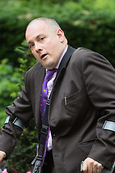 Downing Street,  London, June 27th 2015. Deputy Chairman of the Conservative Party Robert Halfon arrives for the first post-Brexit cabinet meeting at 10 Downing Street
