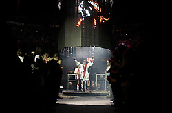 November 27, 2009; Quebec City, CAN; Lucien Bute vs Librado Andrade II at Colisee Pepsi in Quebec City, CAN.