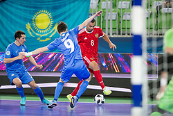 Eder Lima of Russia during futsal match between National teams of Kazakhstan and Russia at Day 5 of UEFA Futsal EURO 2018, on February 3, 2018 in Arena Stozice, Ljubljana, Slovenia. Photo by Urban Urbanc / Sportida