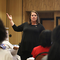 Shannon Ivy was one of many guest speakers for Saturday's G.I.R.L. Talk event