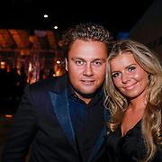 NLD/Amsterdam/20121206 - VIP night Masters of LXRY, Wesley Bronkhorst en partner Eline de Bree