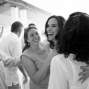 Dani and Sarah are married in a wedding at Camp Lakota in New York on June 7, 2014.<br /> <br /> Photo by Angela Jimenez <br /> www.angelajimenezphotography.com