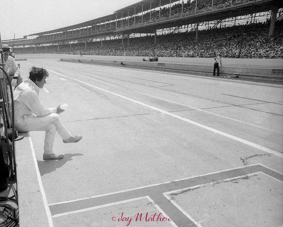 Thirty-three drivers begin the annual Indianapolis 500 race each year.  One driver wins, the other thirty-two don't.  Larry Dickson was one of those in the 1978 running of the race.  He qualified for the race and started in 9th position but had engine problems and lost oil pressure on the 104th lap of the 200 lap race.  He finished in 22nd place.  The winner of the race was Al Unser Sr. who won for the 3rd time by 9 seconds over Tom Sneva.