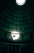 Interior of the Pantheon, Rome, Italy.