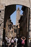 Italy Tuscany, San Gimignano