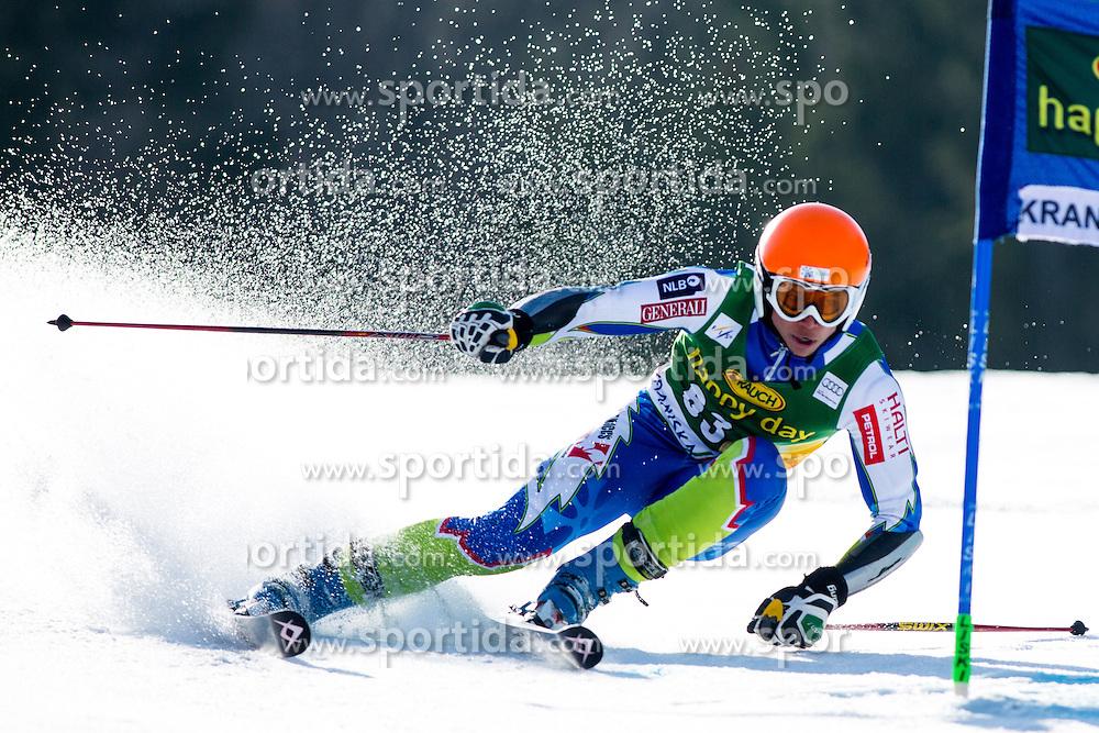REICH POGLADICAndraz of Slovenia during the 1st Run of Men's Giant Slalom - Pokal Vitranc 2014 of FIS Alpine Ski World Cup 2013/2014, on March 8, 2014 in Vitranc, Kranjska Gora, Slovenia. Photo by Matic Klansek Velej / Sportida