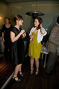MIRANDA COLLINGE AND HAYLEY ATWELL , ESQUIRE Editor Jeremy Langmead hosts a Salon/ dinner in honour of Casey Affleck. SUKA at Sanderson Hotel, 15 Berners Street, London. 28 May 2008 *** Local Caption *** -DO NOT ARCHIVE-© Copyright Photograph by Dafydd Jones. 248 Clapham Rd. London SW9 0PZ. Tel 0207 820 0771. www.dafjones.com.