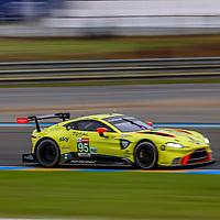 #95, Aston Martin Racing, Aston Martin Vantage AMR, LMGTE Pro, driven by:  Marco Sorensen, Nicki Thiim, Darren Turner, 24 Heures Du Mans  2018, , 14/06/2018,