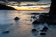 Costa Rica Pacific Coast  Sunset